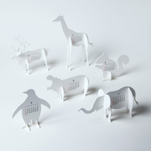 "Design Spectrum 設計光譜 Exhibitors stories 設計師與創作故事 good morning original calendar 2012 ""ZOO"""
