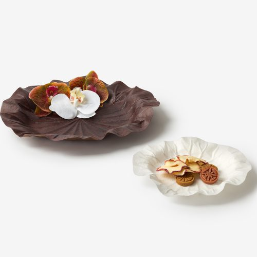 Design Spectrum 設計光譜 Exhibitors stories 設計師與創作故事 Hanji Tray – Lotus  leaf
