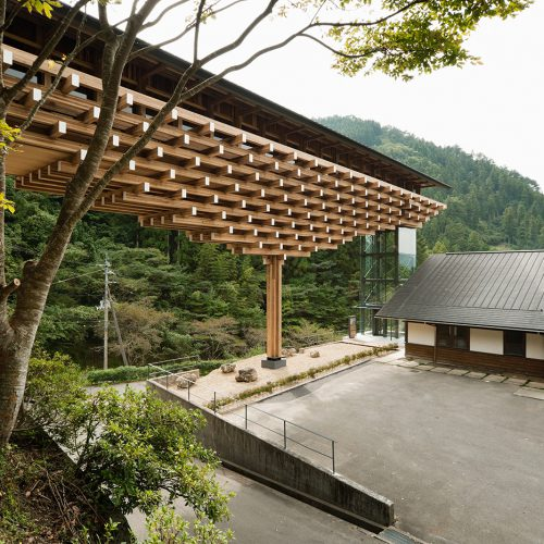 Design Spectrum 設計光譜 Exhibitors stories 設計師與創作故事 Yusuhara Wooden Bridge Museum, Japan