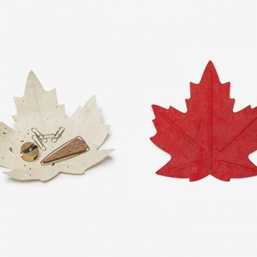Design Spectrum 設計光譜 Exhibitors stories 設計師與創作故事 Hanji Tray – Maple leaf