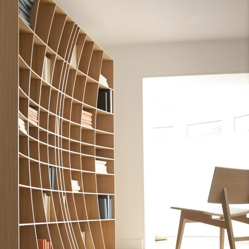 Design Spectrum 設計光譜 Exhibitors stories 設計師與創作故事 Concave Bookcase by Simon Pengelly forJoined and Jointed