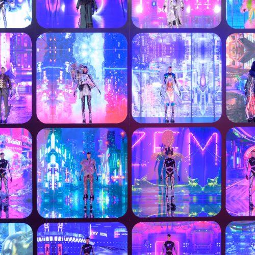 "Design Spectrum 設計光譜 Exhibitors stories 設計師與創作故事 Design District Hong Kong (#ddHK) ""Heart of Cyberpunk"" – Immersive Fashion Experience"