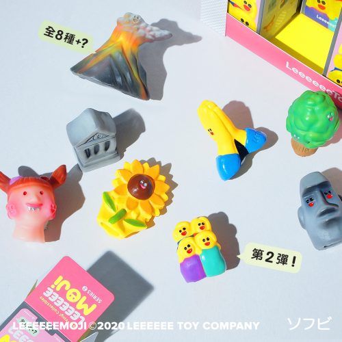 Design Spectrum 設計光譜 Exhibitors stories 設計師與創作故事 Leeeeeemoji series 2